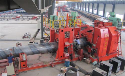 螺旋焊管成型机组