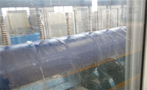 3pe防腐钢管水冷却工段
